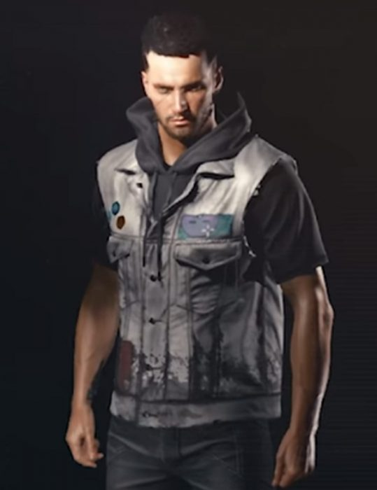 cyberpunk 2077 Hooded vest