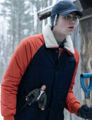 Coby Bird Locke And Key Puffer Jacket