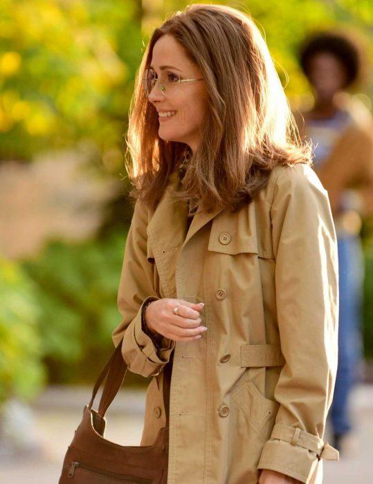 Gloria Steinem Mrs America Rose Byrne Coat
