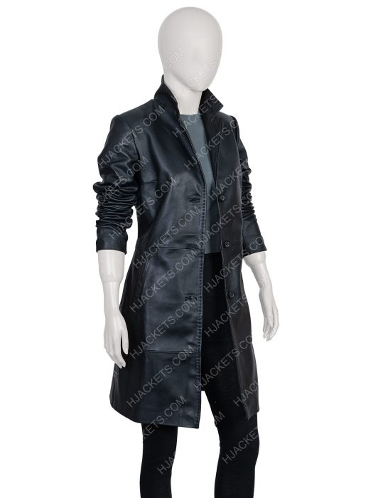 High Fidelity Leather Coat