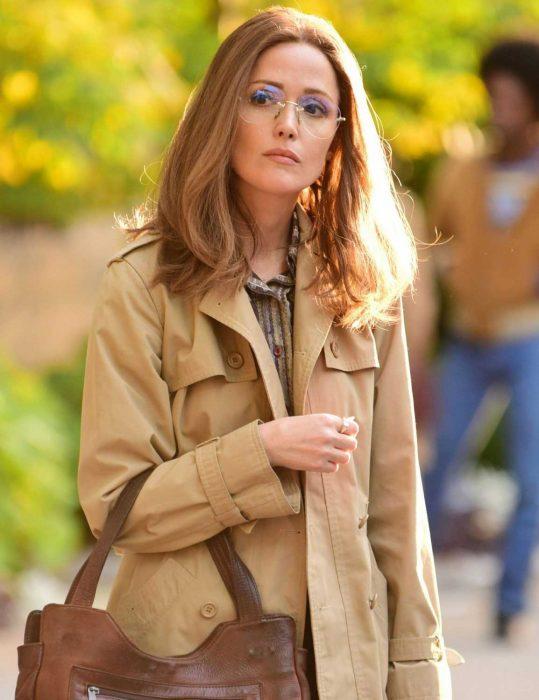 Mrs America Rose Byrne Coat