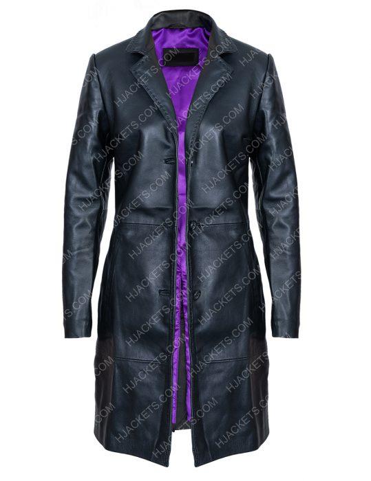 Zoë Kravitz High Fidelity Black Coat