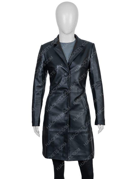 Zoë Kravitz High Fidelity Coat