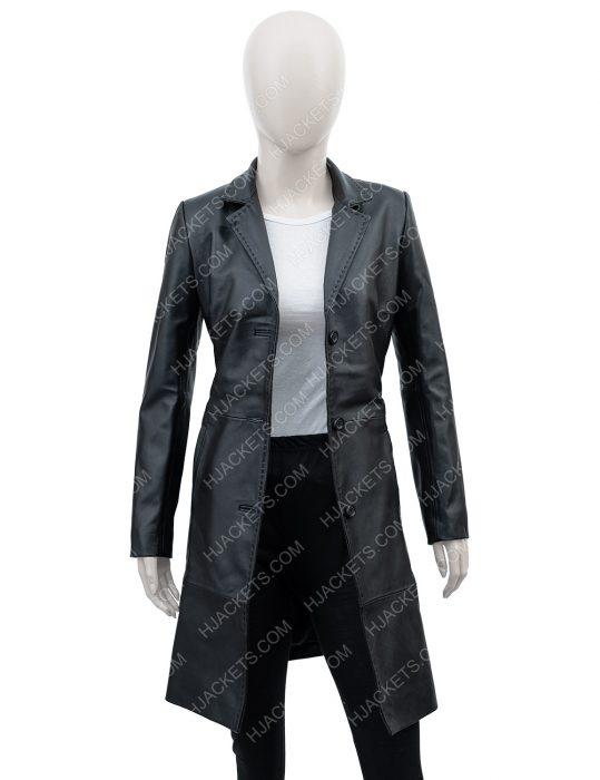 Zoë Kravitz High Fidelity Robyn Rob Brooks Coat