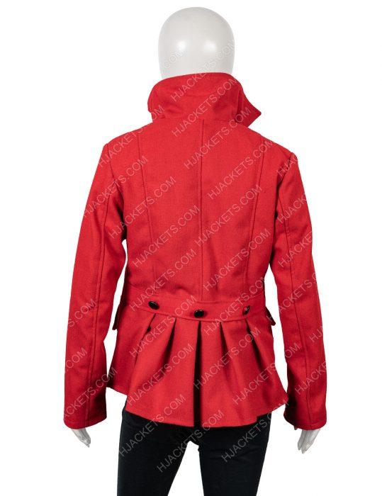 brooke d'orsay christmas in love wool blend coat