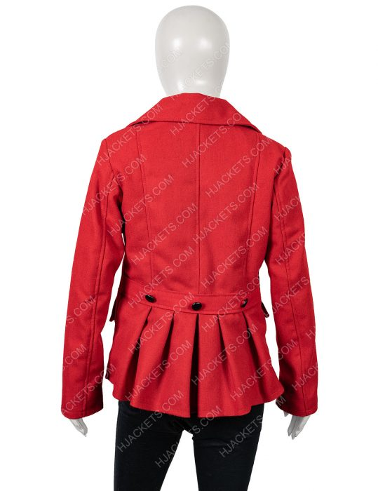 ellie hartman christmas in love coat
