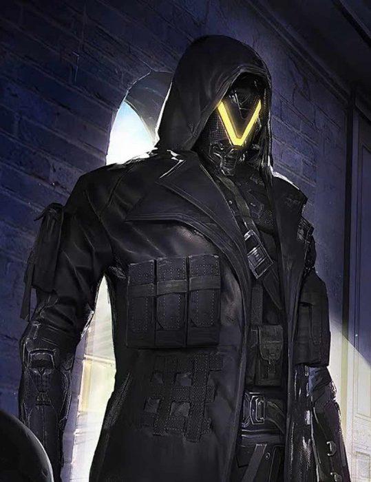 pubg elite agent leather coat