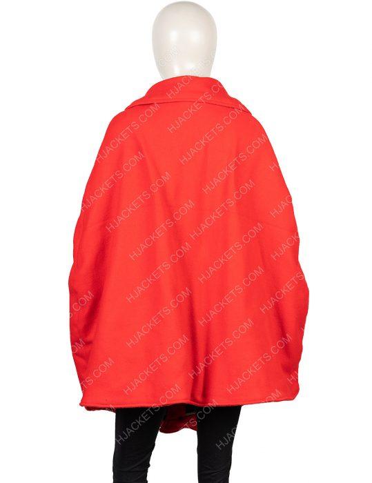 saoirse ronan little women jo march red coat