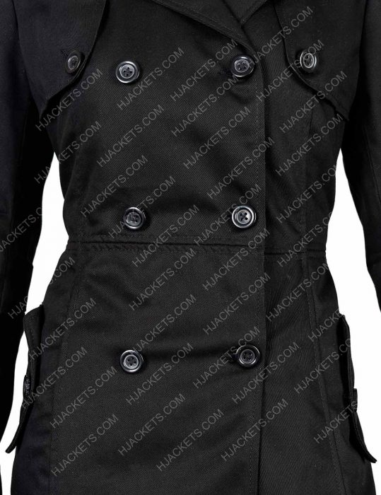 silver linings playbook tiffany black coat