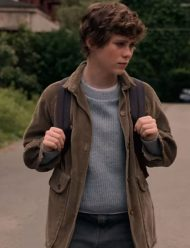 sophia lillis i am not okay with this corduroy jacket