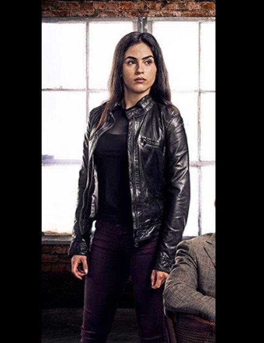 Condor S02 Leem Lubany Black Leather Jacket