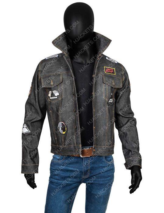 Daft Punk Black Jean Jacket