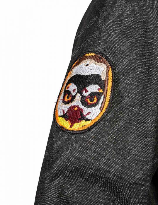 Daft Punk Denim Patches Jacket