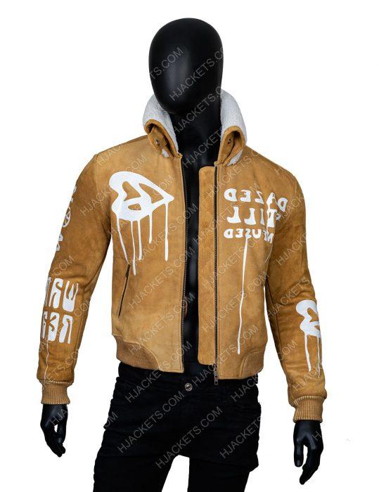 Gigi Hadid Brown Jacket