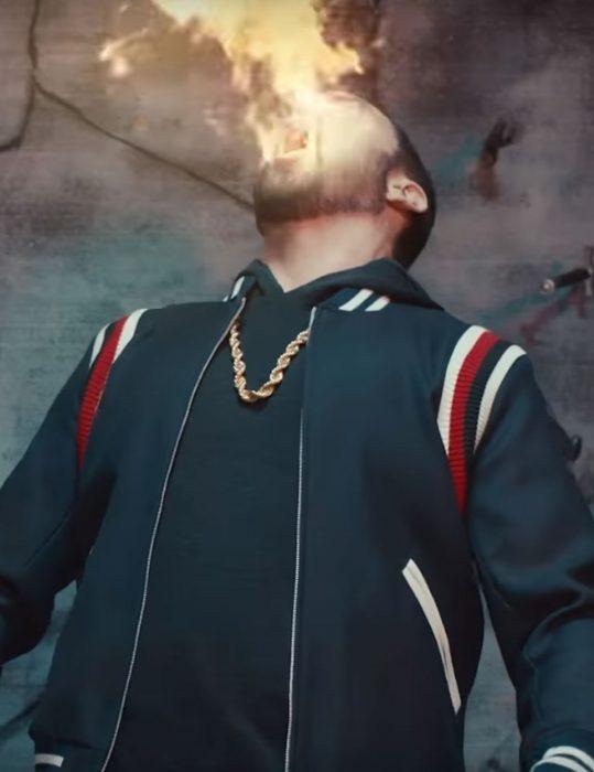 Godzilla Eminem Varsity CottonJacket