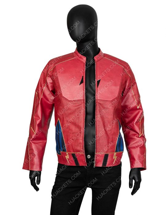 Jay Garrick The Flash Leather Jacket