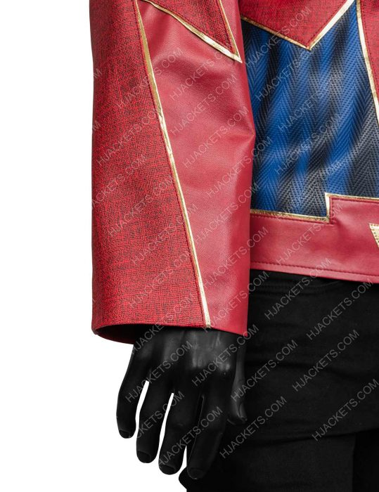 John Wesley Shipp The Flash Leather Jacket