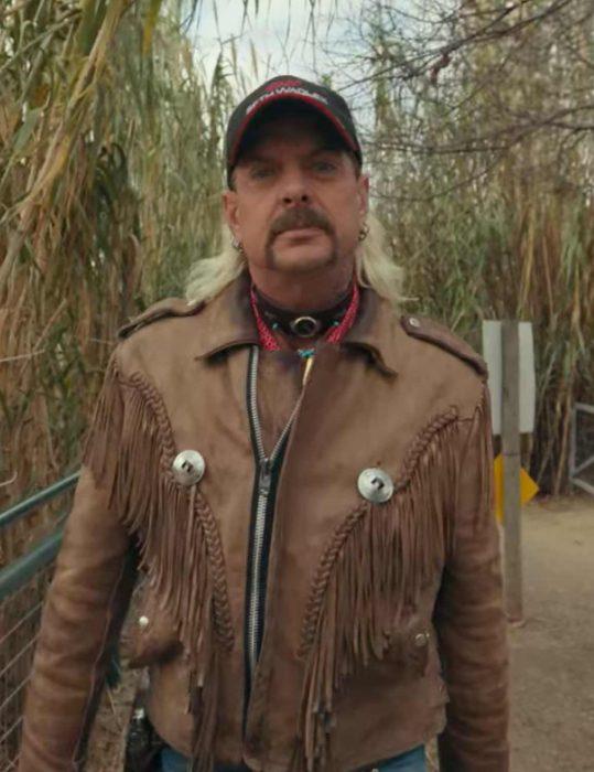 Tiger King Joe Exotic Leather Jacket