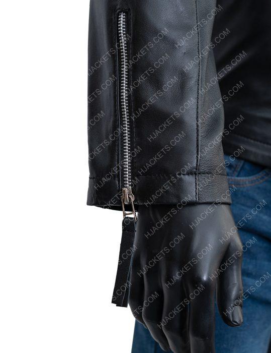 bobby axelrod black biker jacket