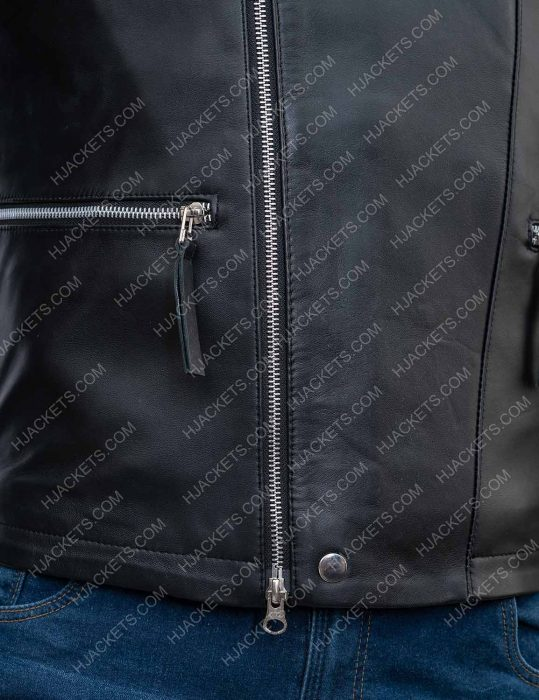 damian lewis billions biker jacket