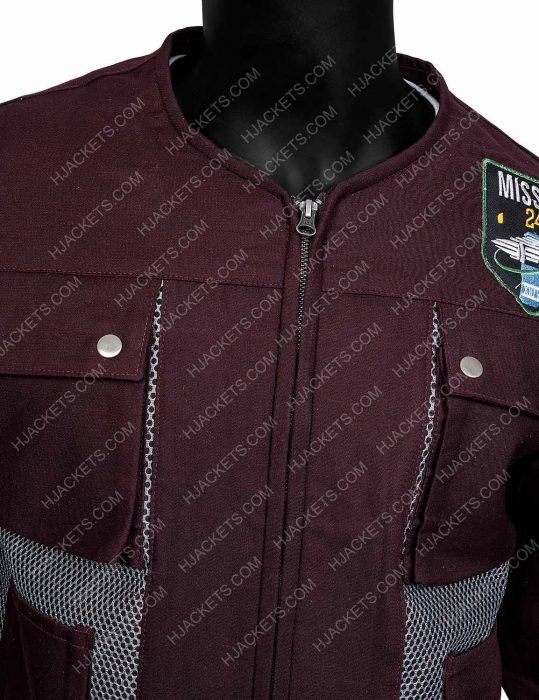 lost in space maxwell jenkins cotton jacket
