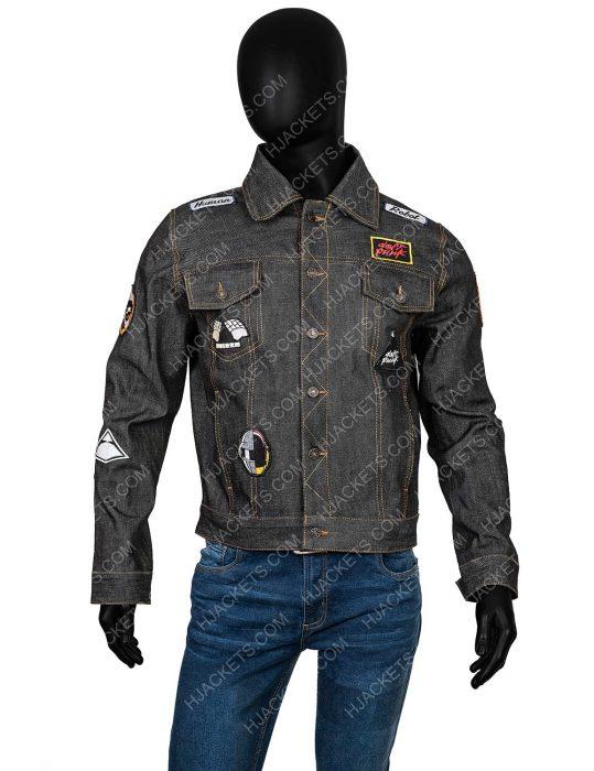 punk jean jacket