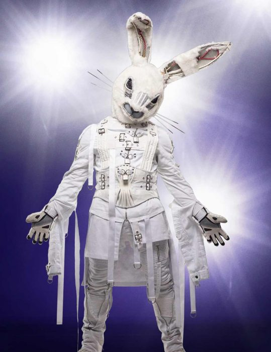 the masked singer Rabbit Cosplay Costume
