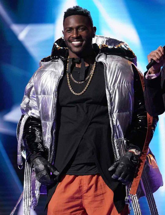 the masked singer antonio brown jacket