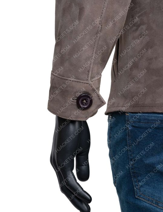 the stranger Leather Jacket