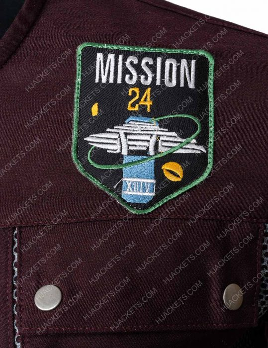 will robinson lost in space mission 24 logo jacket
