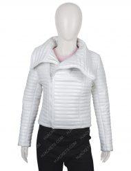 Bloodshot Kt White Puffer Jacket