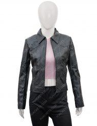 You Candace Stone Season 2 Leather Jacket