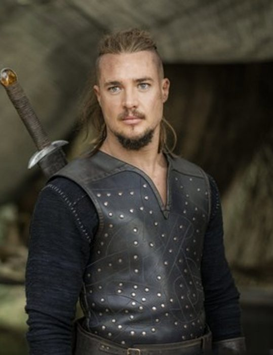 the last kingdom uhtred brown leather vest