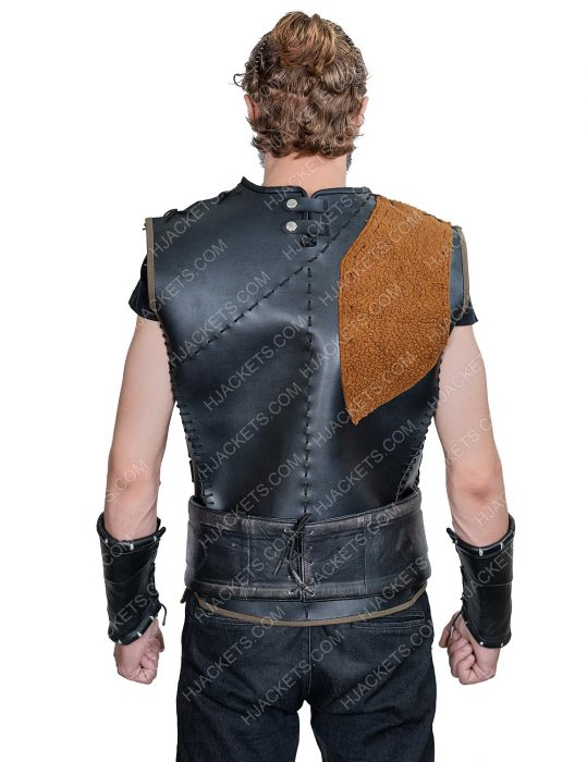 Engin Altan Duzyatan Dirilis Ertugrul S05 Leather Vest