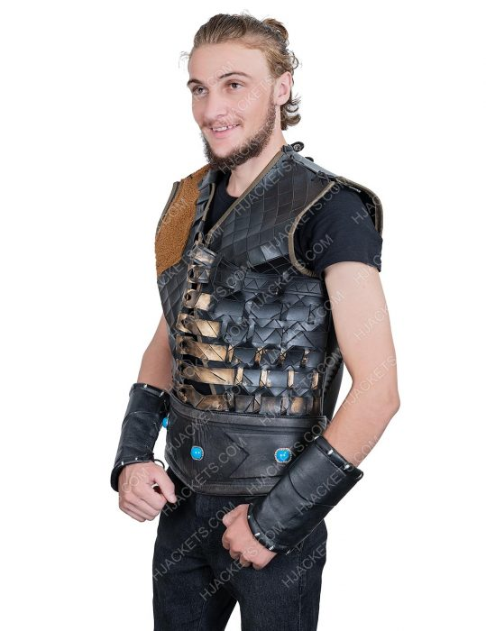 Engin Altan Duzyatan Ertugrul Season 05 Leather Vest