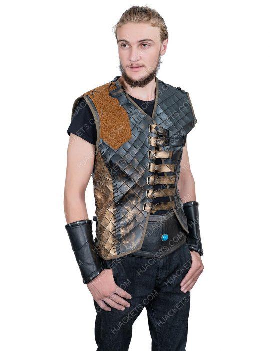 Ertugrul Season 05 Leather Vest