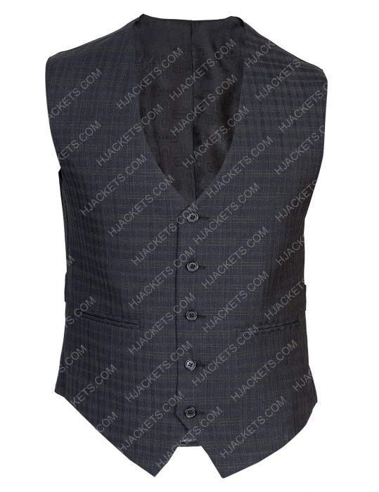 Hodak Charlies Angels Checkered Vest