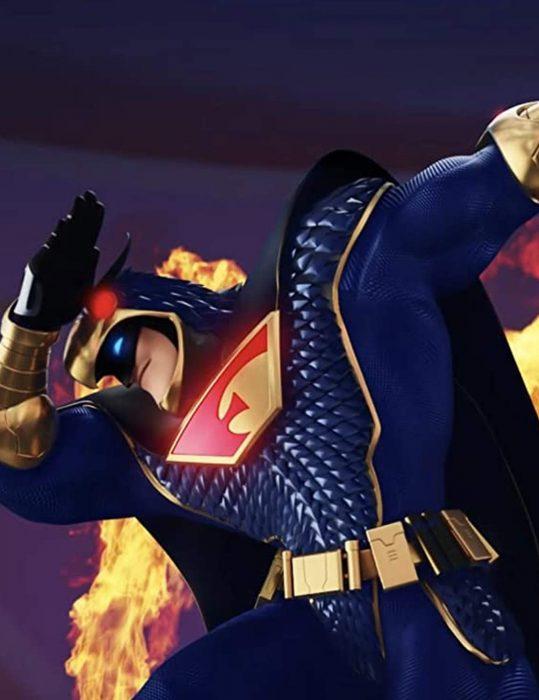 mark wahlberg scoob blue falcon leather jacket