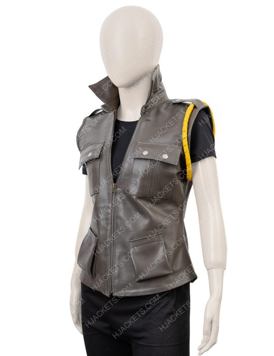 sonya blade mortal kombat x leather vest