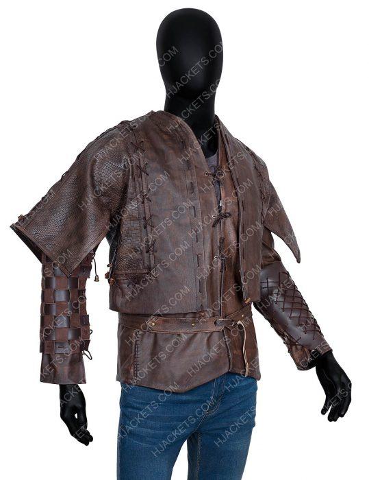 Cursed 2020 Devon Terrell Leather Jacket