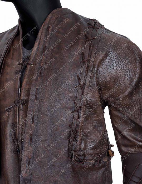 Devon Terrell Leather Jacket