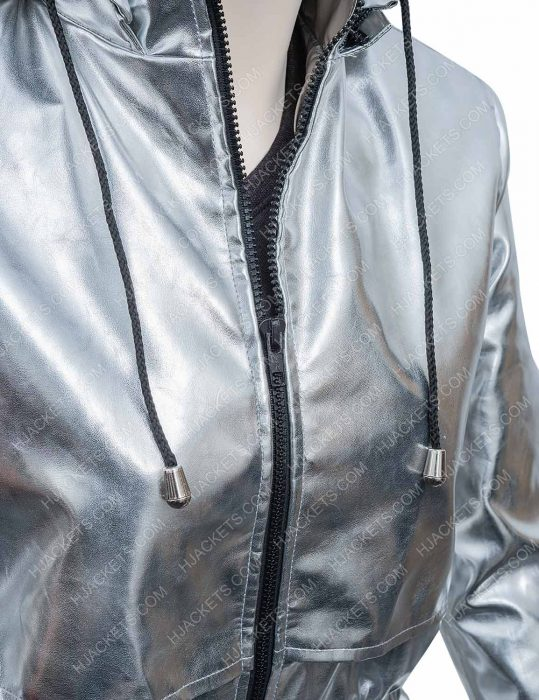 Feel The Beat April Silver Coat
