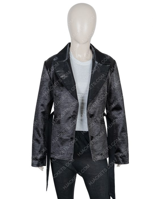 Mandip Gill Doctor Who Season 12 Yasmin Khan Black Blazer Coat