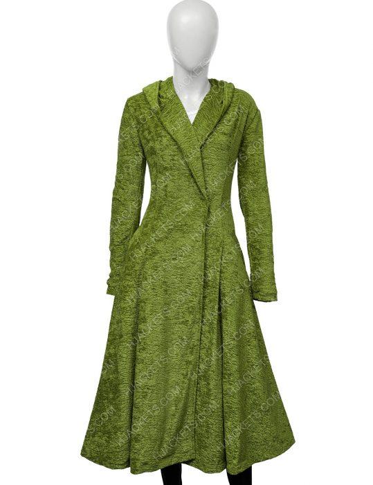Nicole Kidman Grace Sachs The Undoing Green Coat