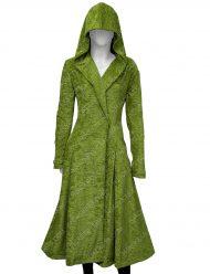 Nicole Kidman Grace Sachs The Undoing Green Wool Coat