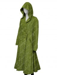 Nicole Kidman The Undoing Green Wool Coat