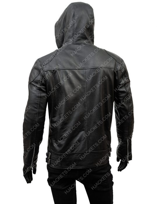 The Umbrella Academy Season 02 Ben Hargreeves Leather Jacket