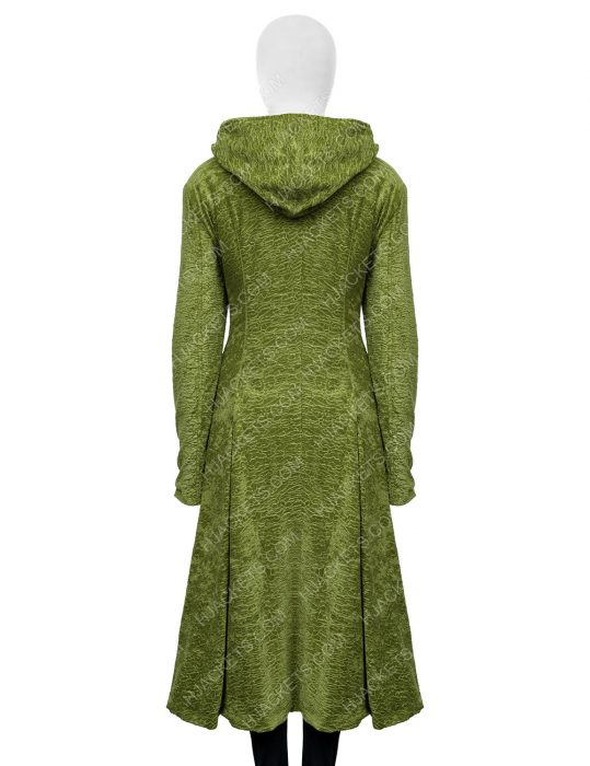 The Undoing Nicole Kidman Green Wool Coat