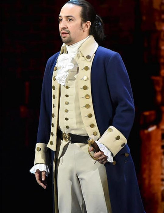 hamilton alexander hamilton Blue coat