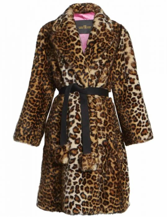 the politician s02 lucy boynton leopard coat